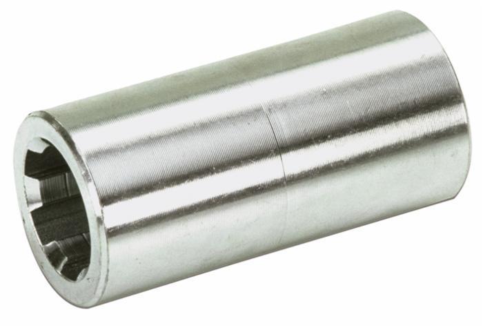 40 Douille cannelée Prise de Force 20x17 DIN 5482 Z12 L