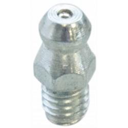Graisseur droit M10x1 acier zingué (Lot de 10 pièces)