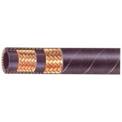 """Flexible hydraulique 2 tresses 5/8"""" DIN 2SN 250 bars (Lot de 10)"""