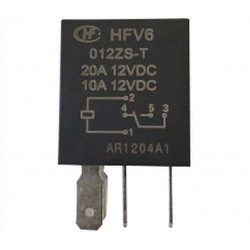 Micro relais 12 V 10/20 A