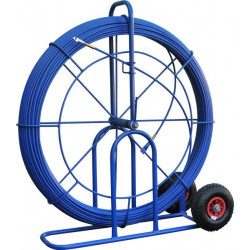 Aiguille 11 mm L 300 M sur grand dévidoir à roues increvables
