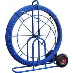 Aiguille 11 mm L 150 M sur grand dévidoir à roues increvables