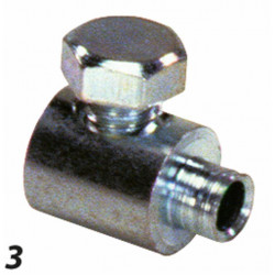 2.5 MM CABLE CLAMP.