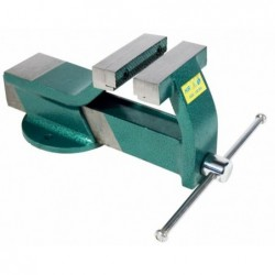 Steel bench vice 100 mm